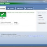 Funcionamiento básico Microsoft Security Essentials