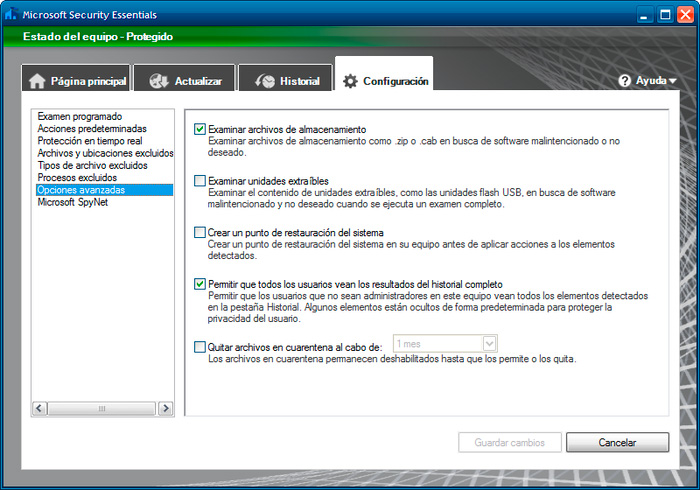 microsoft security essentials antivirus 2