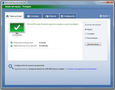 microsoft security essentials funcionamiento 1