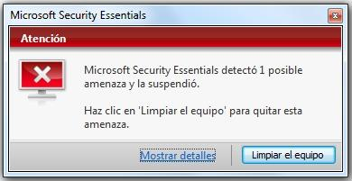 microsoft security essentials funcionamiento 3