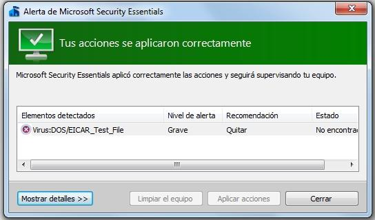 microsoft security essentials funcionamiento 4