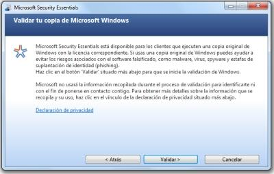 microsoft security essentials instalacion 2