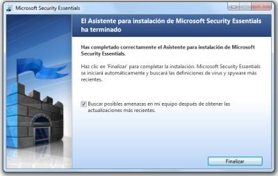 microsoft security essentials instalacion 4